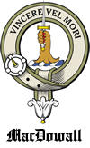 McDowell badge